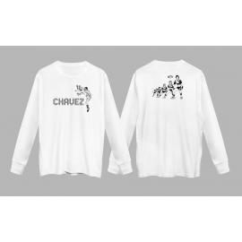 Gone Glimmering White Longsleeve Shirt