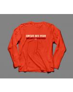 -io Orange Long Sleeve T-Shirt